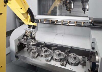 Detalle Indecober mecanizado cnc
